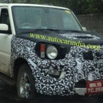 SPIED: Facelifted Scorpio's Camouflaged Front Revealed; Coming Next Year