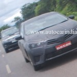 SPIED: First Ever Spyshots of New Toyota Corolla From India; Launch Early 2014