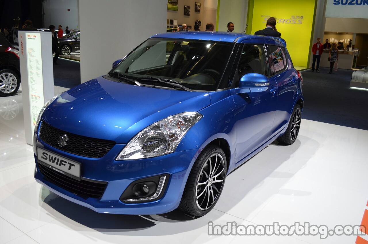 Suzuki Swift facelift unveiling at Frankfurt