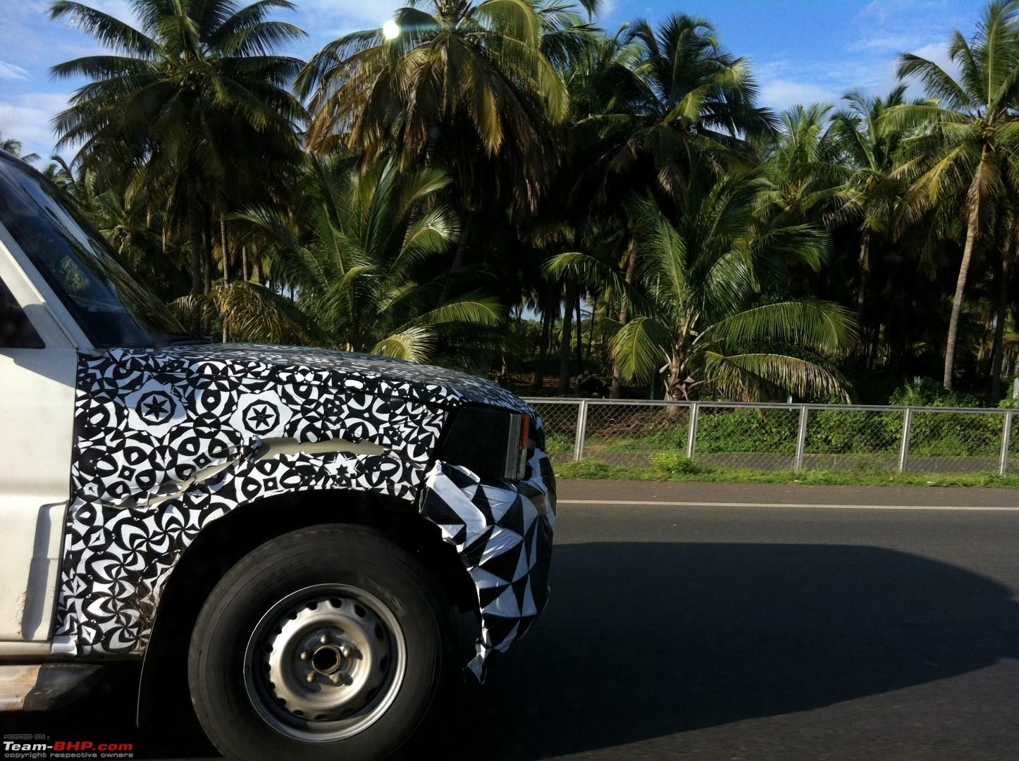 new car launches june 2014Mahindra Scorpio Facelift Spied Again Launch in June 2014