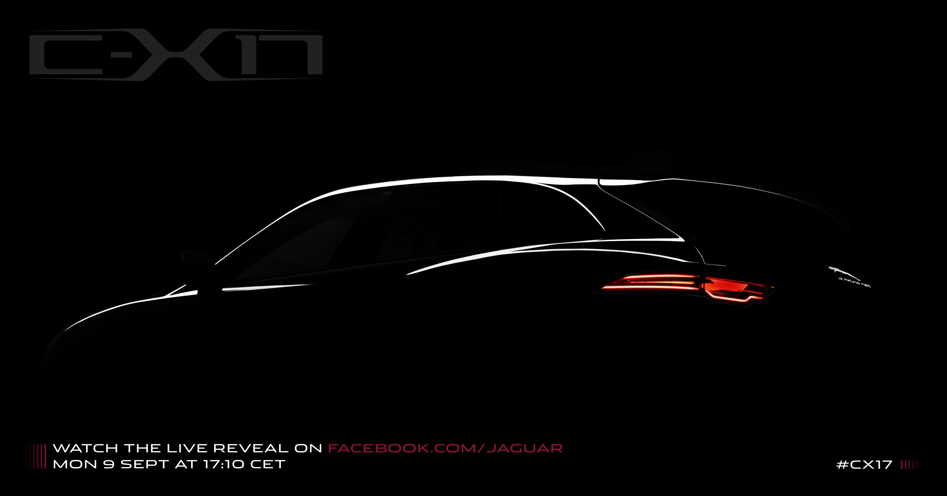 Jaguar to unveil C-X17 concept study