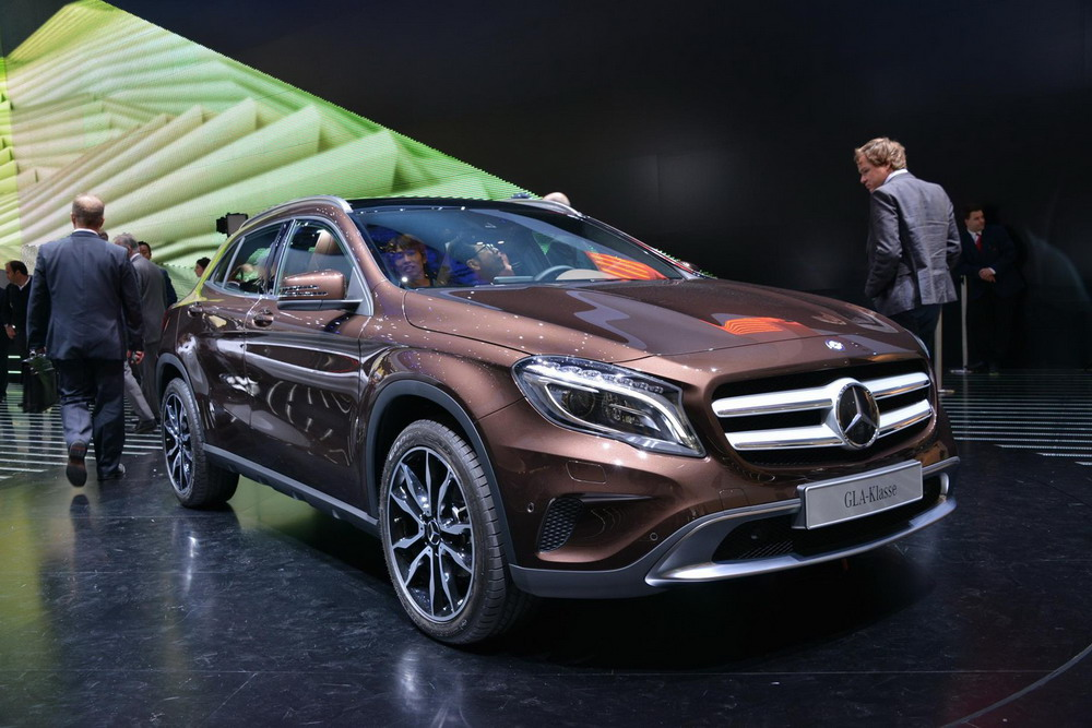 India Bound Merc GLA Breaks Cover at Frankfurt; Audi Q3