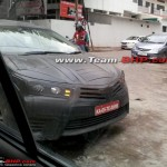 New Spyshots of 2014 Toyota Corolla: Launch Early 2014