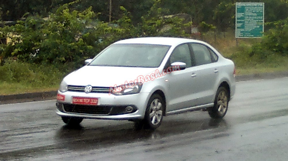 Polo And Vento Left Hand Drive Lhd Spied In India