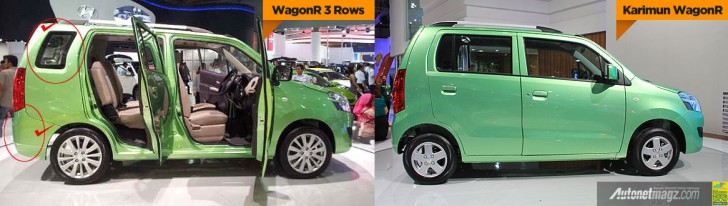 7-seat WagonR vs regular wagonR