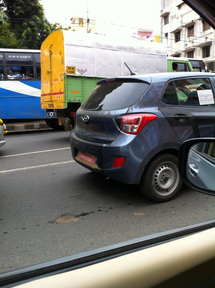 Hyundai-grand-i10-caught-testing-after-launch