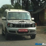 SPIED: Mahindra Scorpio Facelift Caught Again, Wearing Xylo's Bumper
