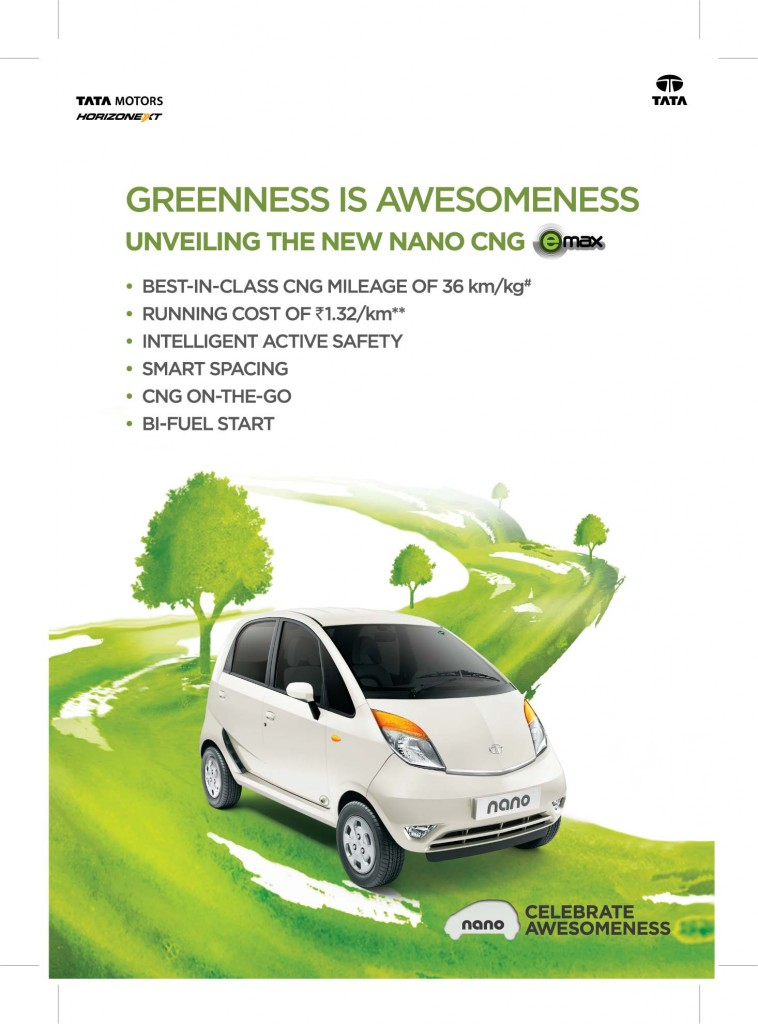 Nano CNG eMax Launch