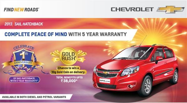 Chevrolet-Sail-Hatch-5-Year-Warranty