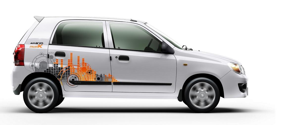 Maruti Launches Alto K Special MusiK Edition - Graphics for alto car