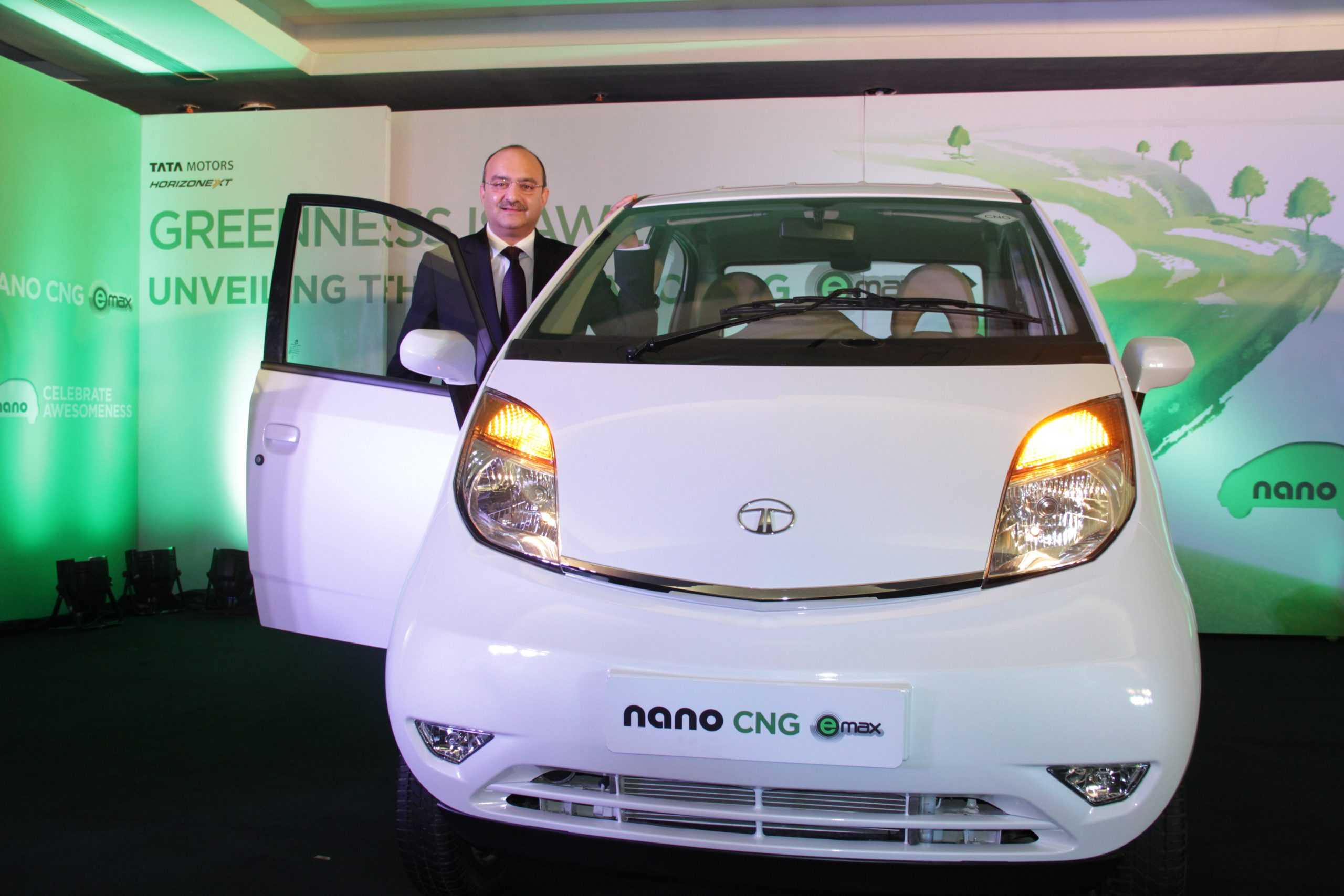 Nano CNG eMax Launch