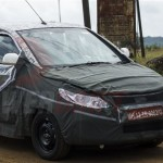 Fresh & Up Close Spyshots of New 2014 Tata Vista Facelift
