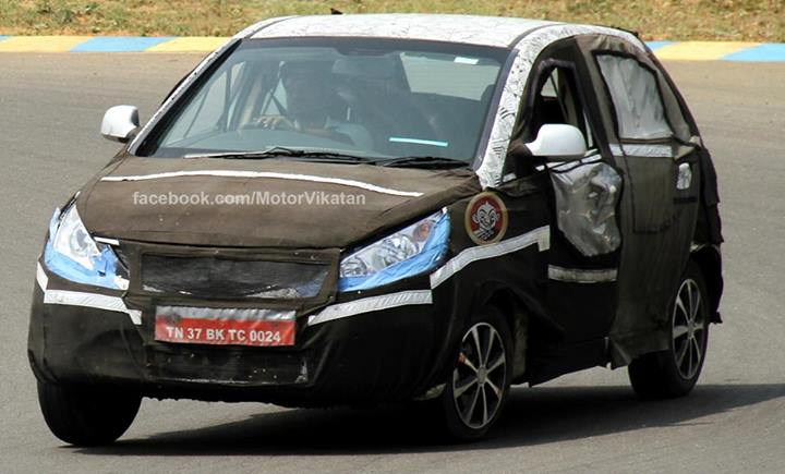 Tata-Vista-Facelift-Spied