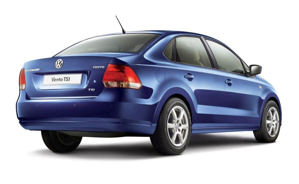 Volkswagen Vento Tsi Rear