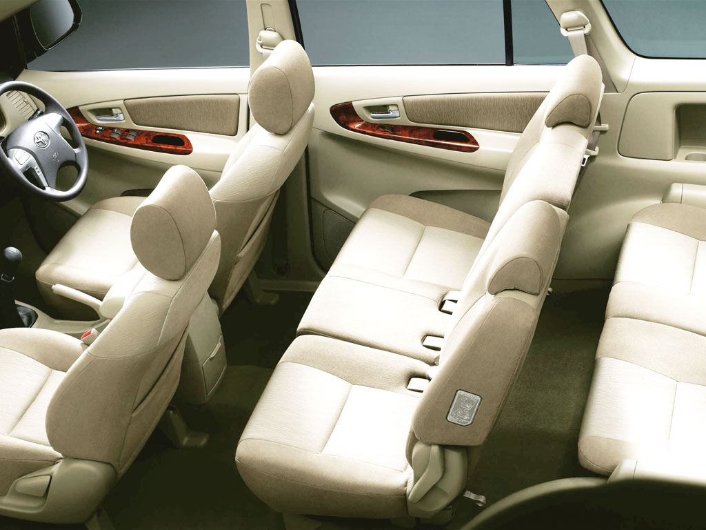 All New Toyota Innova Interior