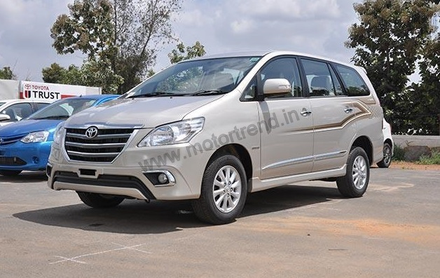 Toyota Innova Z Interiors & Prices Revealed; May Launch On ...