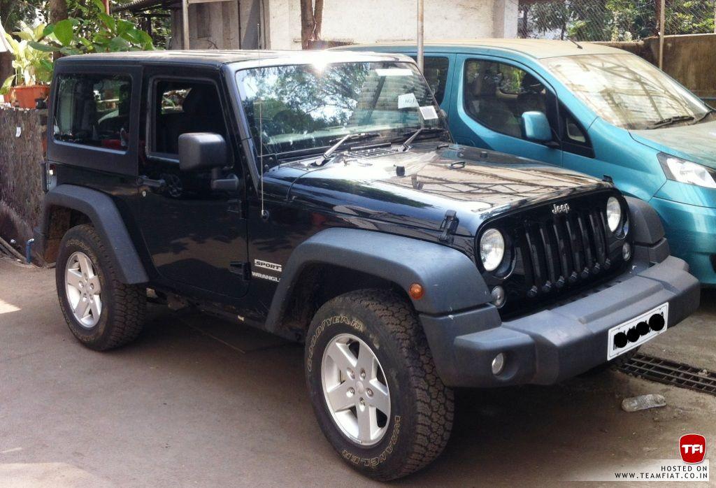 2 Door Jeep Wrangler Sport Spotted In India Launch Soon