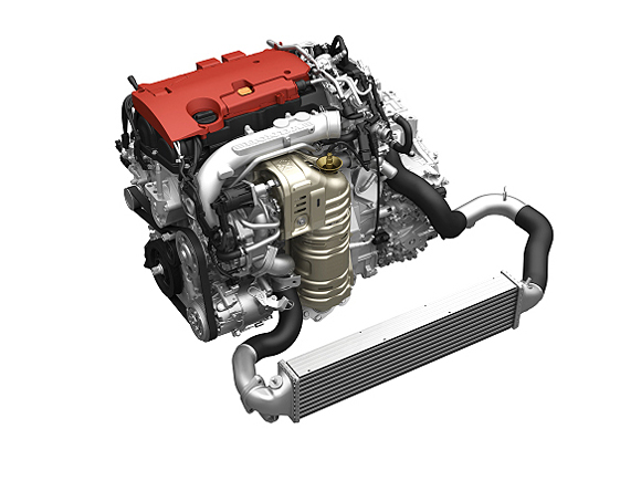 Honda-2.0L-4-cylinder-direct-injection-gasoline-turbo-engine