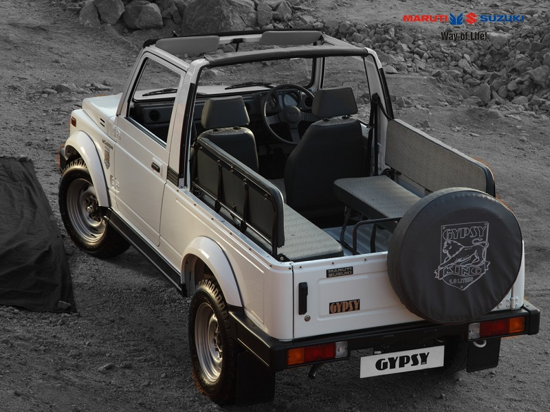 Maruti May Launch Updated Gypsy In India In Some Months