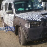 SPIED : Scorpio Facelift's New Details Revealed