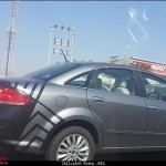 Five Test Mules of 2014 Fiat Linea Facelift Spotted Again; Launch Early 2014