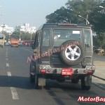 SPIED: Force Testing New Gurkha for NVH on the Road; We have the Proof