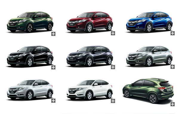 Honda-Vezel-Colour-Options