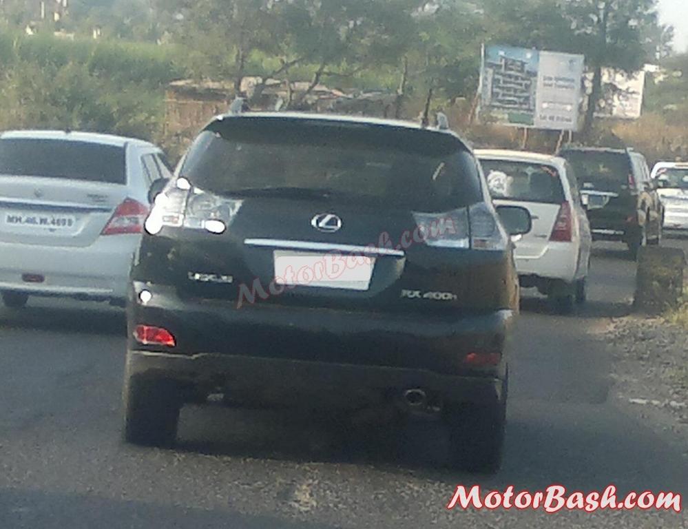 Lexus-RX400-India