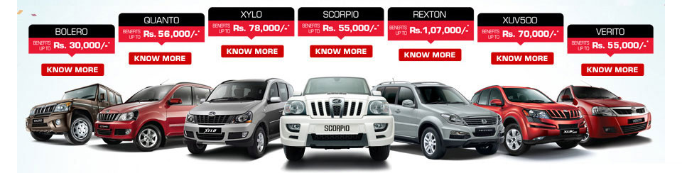 Mahindra Cars Images Mahindra Dec Offer