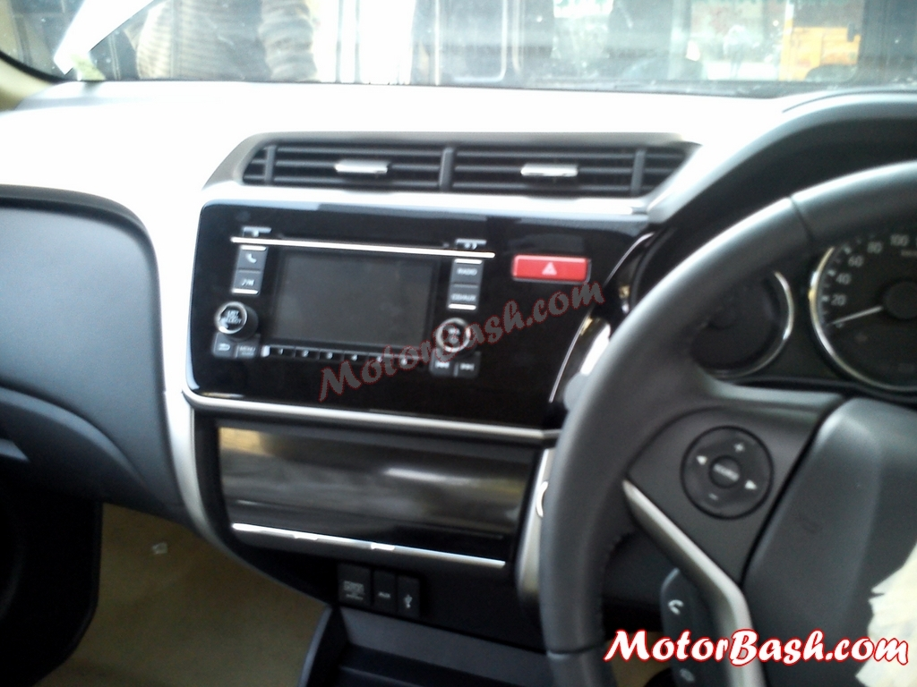 New Honda City Diesel Interior Pics Gets A 6 Speed Gearbox