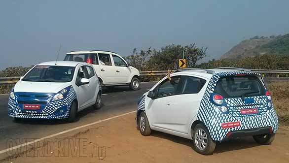First spy pics of the 2015 Chevrolet Spark/Beat - Indian Cars Bikes