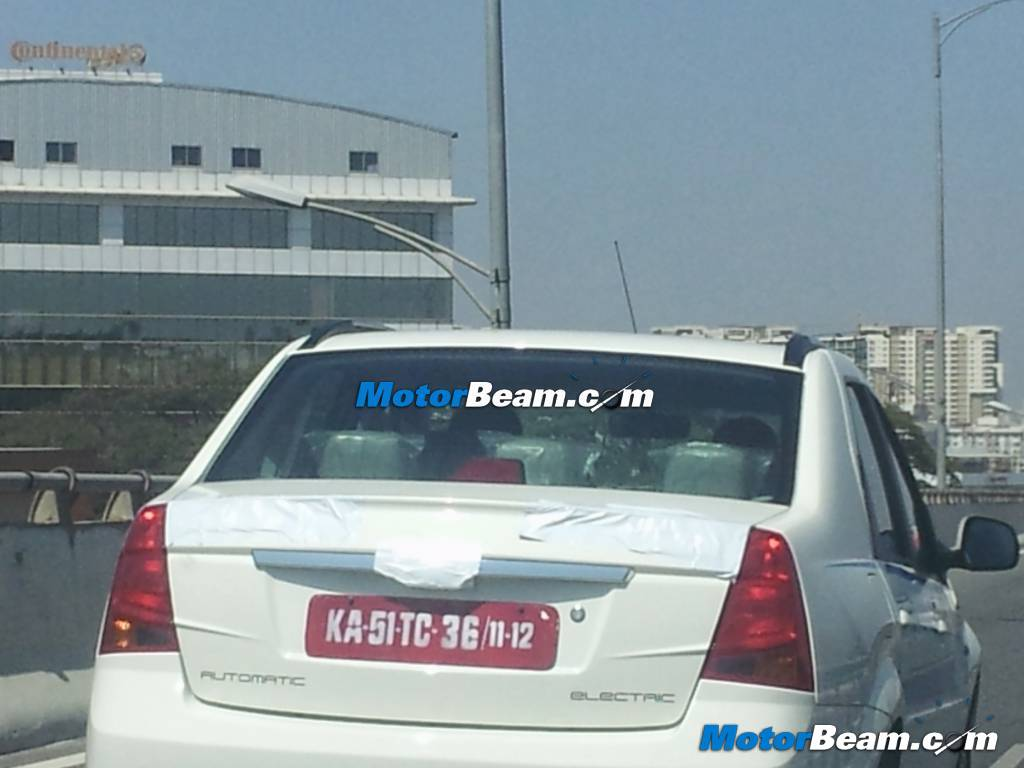 Mahindra-Verito-Electric-Spied