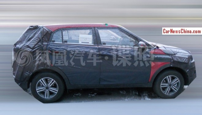 Hyundai-ix25-caught-in-china