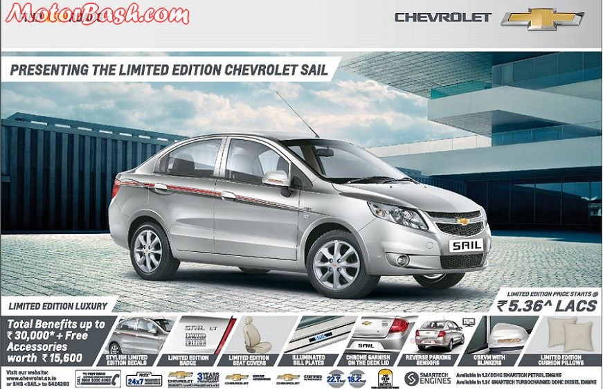 Chevrolet-Sail-limited-edition