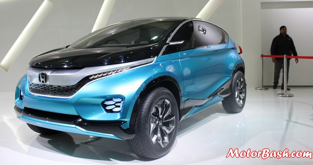 honda 39 s upcoming compact suv to be a 7 seater to rival duster. Black Bedroom Furniture Sets. Home Design Ideas