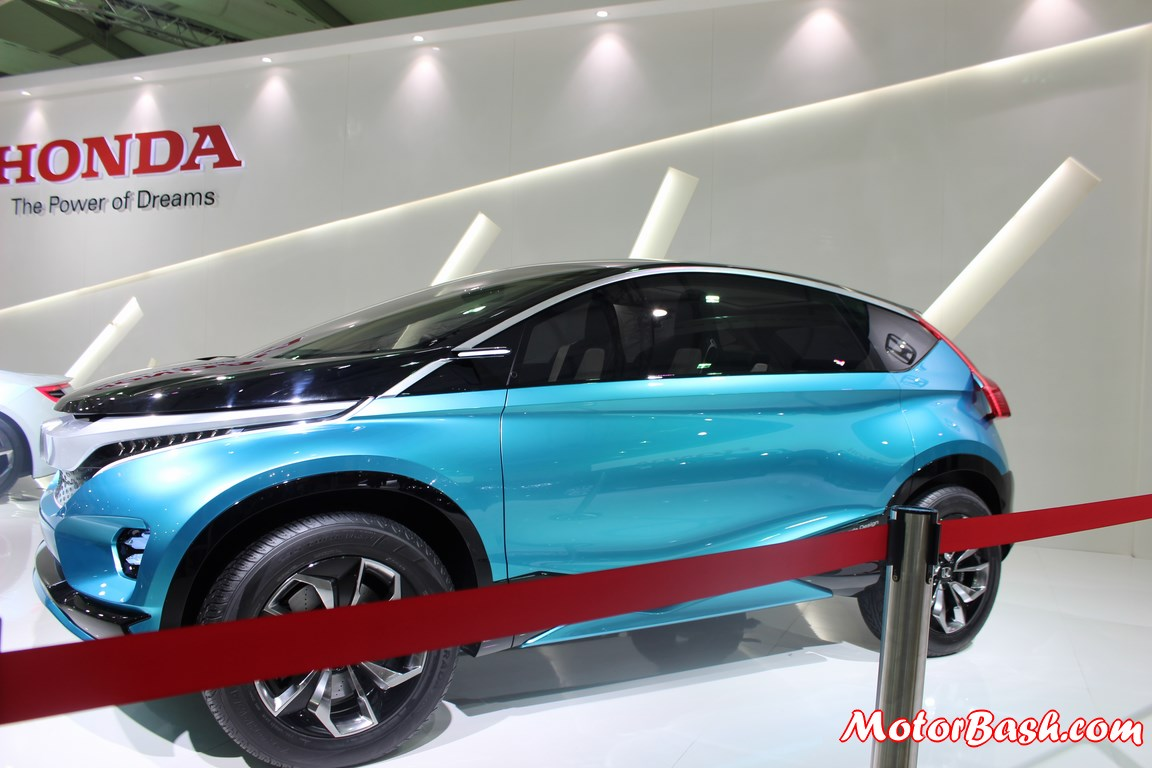 auto expo honda showcases vision xs 1 compact suv pics details. Black Bedroom Furniture Sets. Home Design Ideas