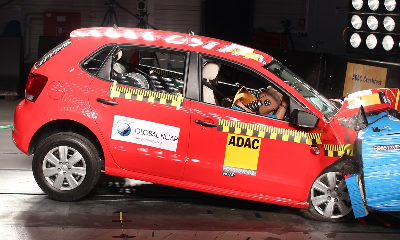 India-VW-Polo-no-airbags-crash-test-result-pic
