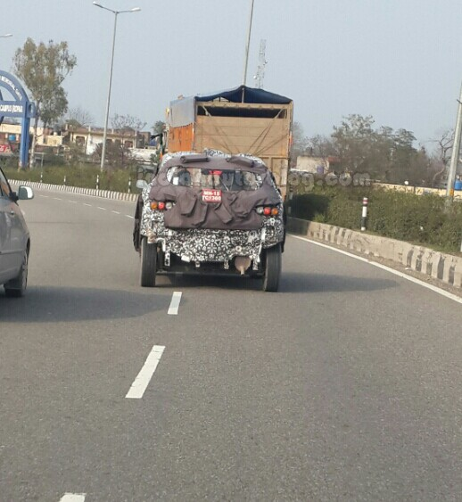 Mahindra-S101-Spied-in-Chandigarh