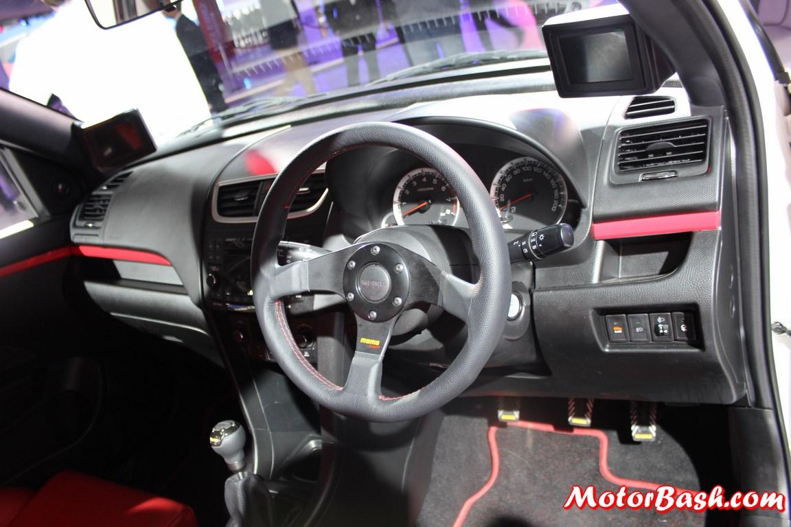 Maruti Suzuki Swift Volt Pics Steering Motorbash Com