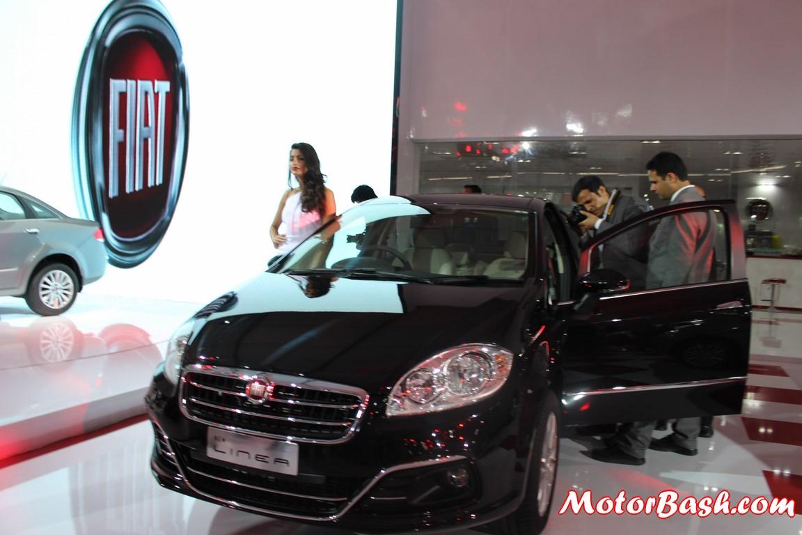 Fiat Linea 2014 Black