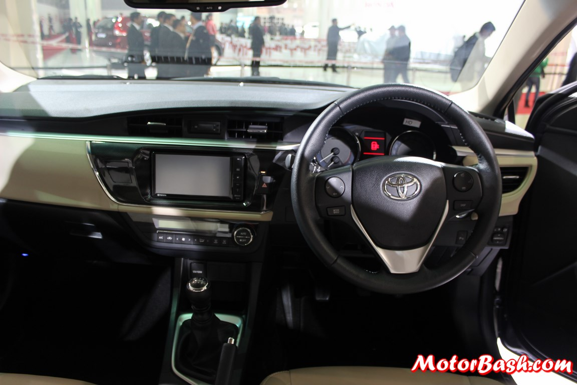 Corolla altis 2015 interior images for Interior toyota corolla