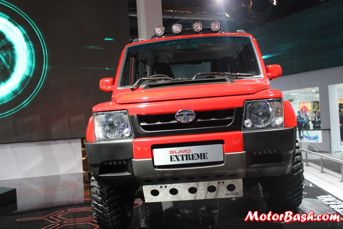 Tata Sumo Extreme 4X4 Picture Gallery