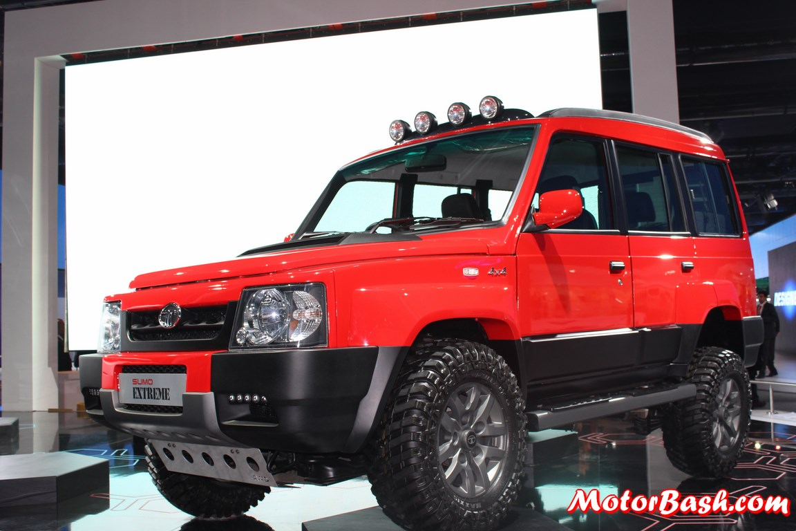 Expo: Tata Launches Rugged Sumo Extreme 4X4: Pics, Specs & Details