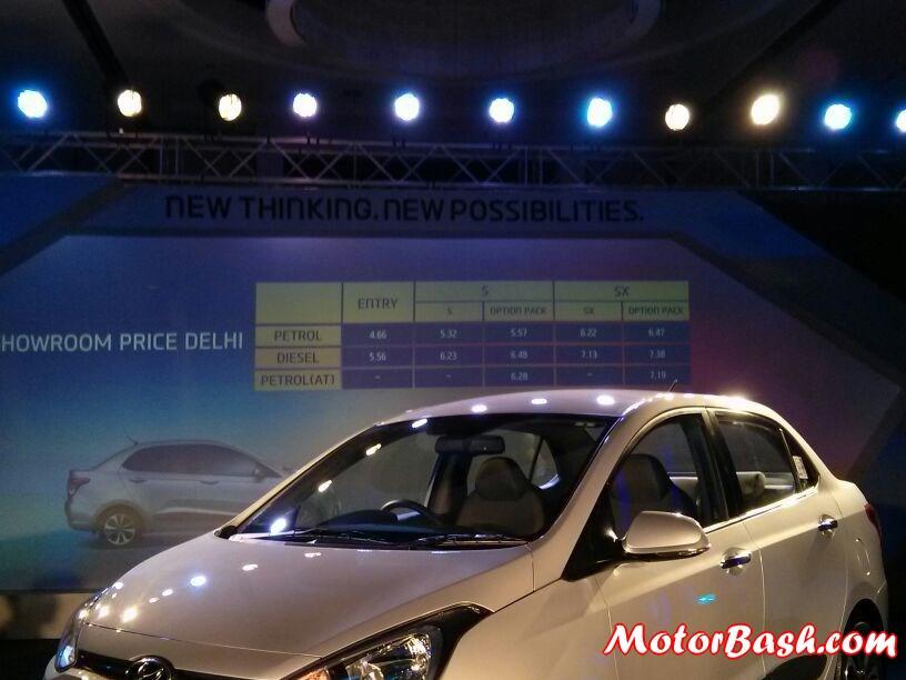 Hyundai-Xcent-Prices