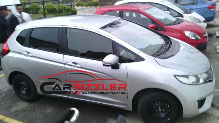 NextGen Honda Jazz Spotted in India Launch Early 2015