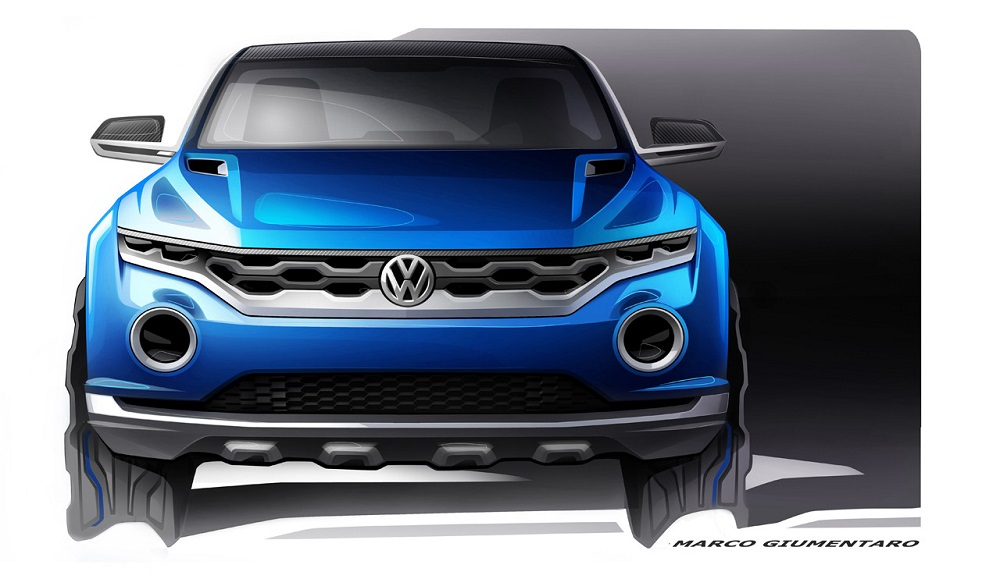 t roc volkswagen 39 s new compact suv at geneva pics details. Black Bedroom Furniture Sets. Home Design Ideas