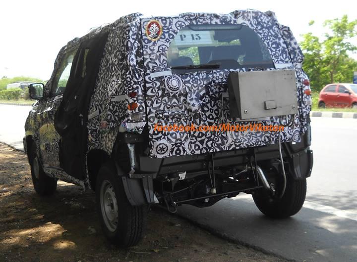 new-Mahindra-Bolero-U301-spy-pic (1)
