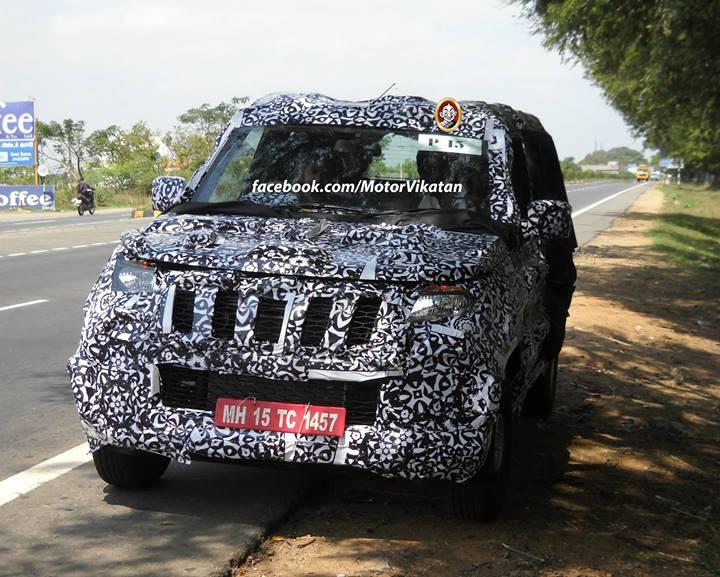 new-Mahindra-Bolero-U301-spy-pic (2)
