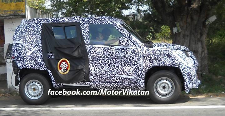 new-Mahindra-Bolero-U301-spy-pic (3)
