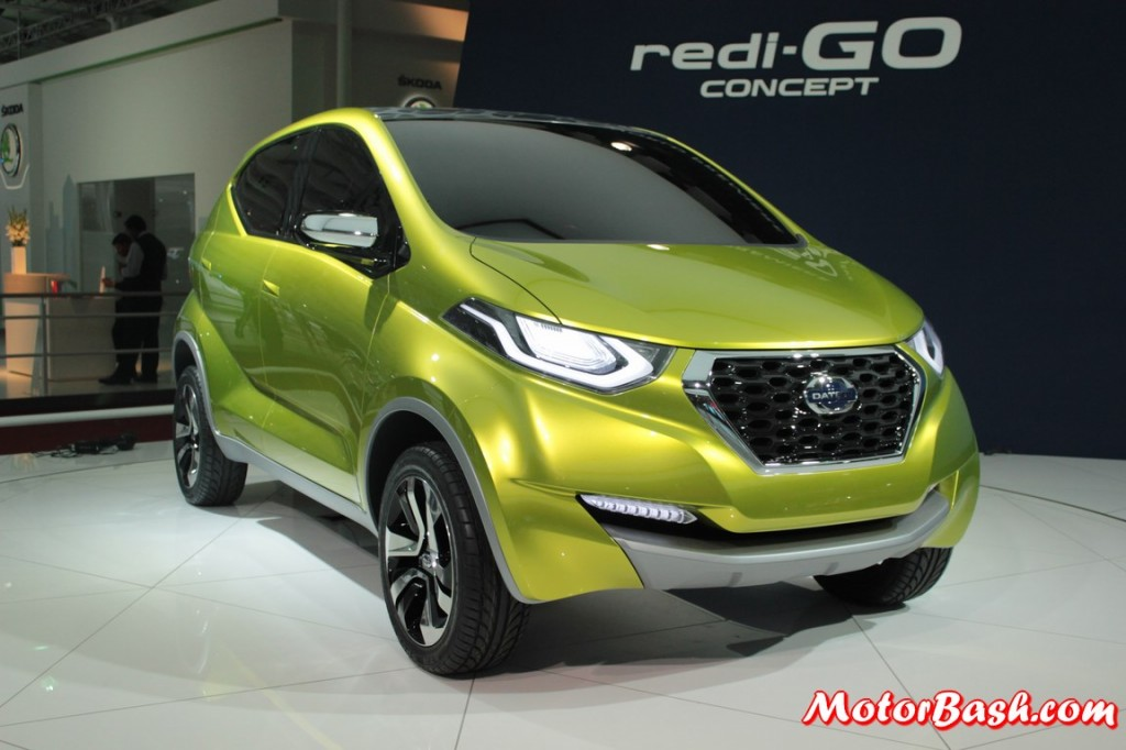 Datsun redi-GO concept showcased at the Auto Expo